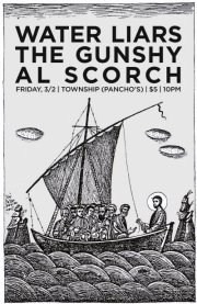 Al Scorch Water Liars Poster
