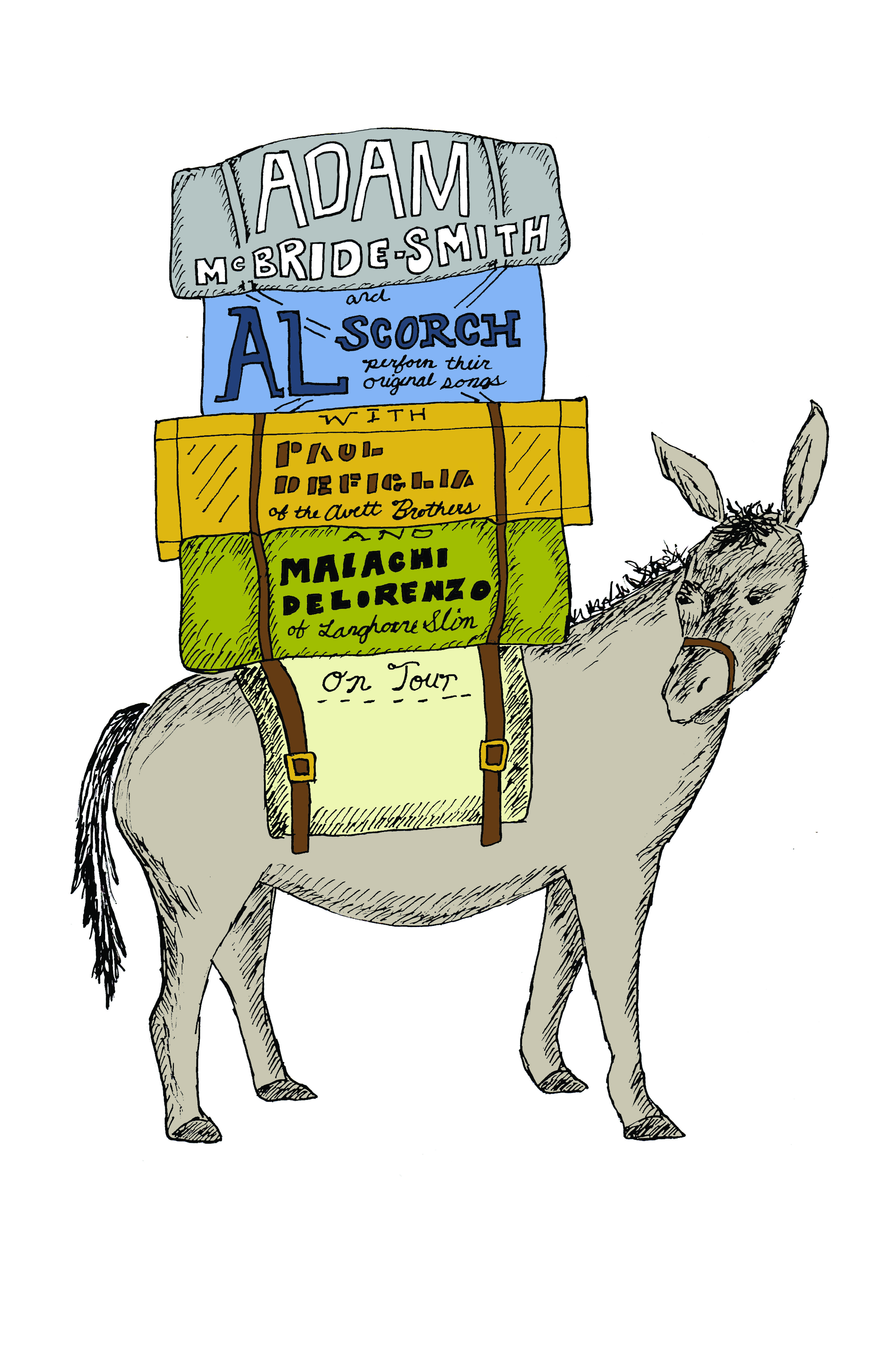 Al Scorch Tour Donkey by Mary Clare Butler