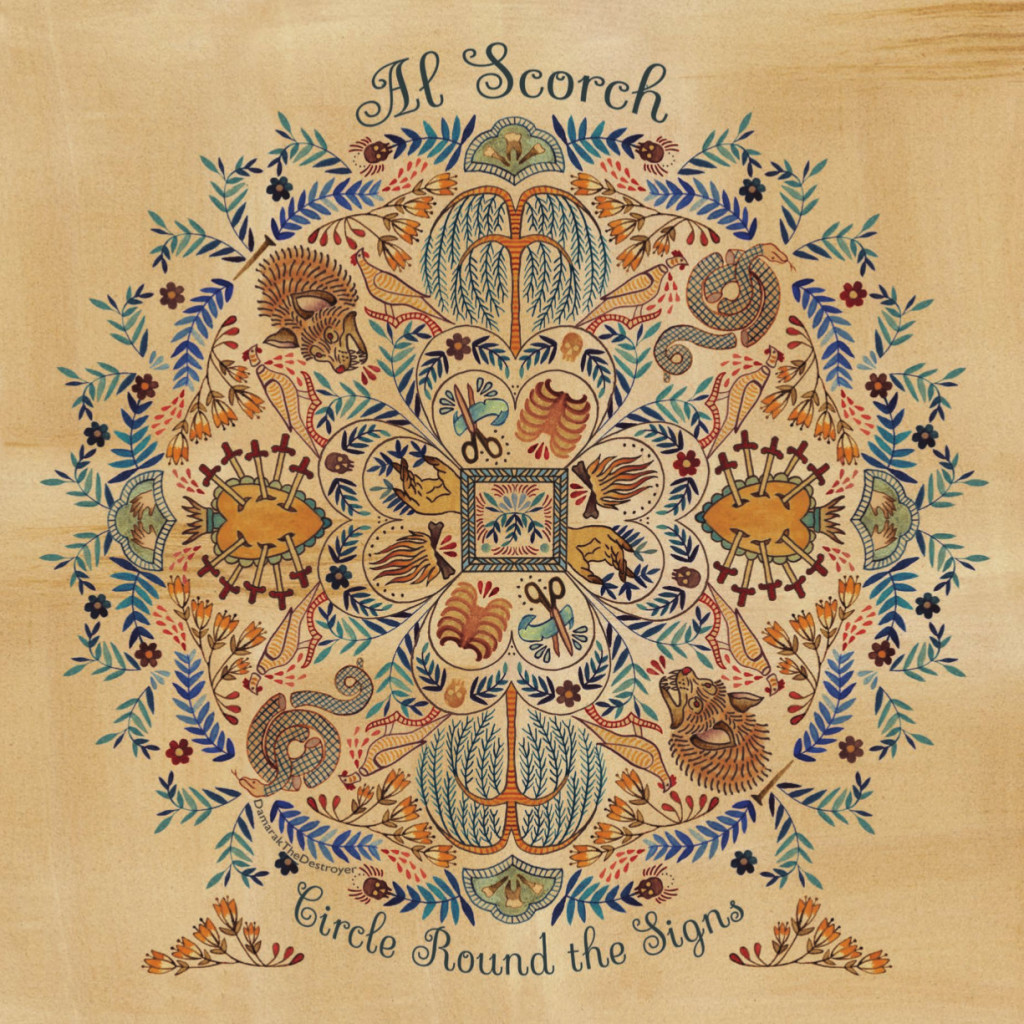 Al Scorch Cover Art Circle Round the Signs Floral