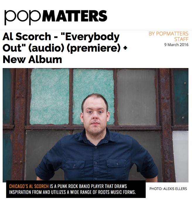 Al Scorch Pop Matters Single Premiere Everybody Out