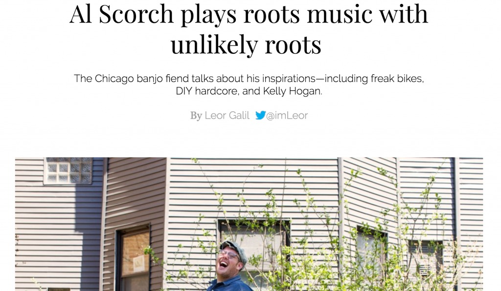 Al Scorch Chicago Reader Roots Music Article