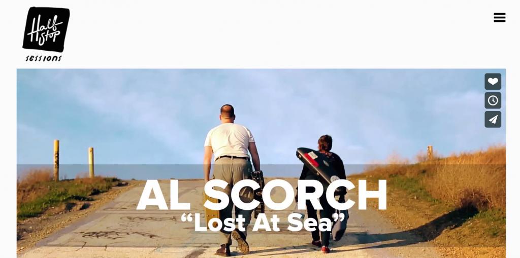 Al Scorch Half Stop Sessions