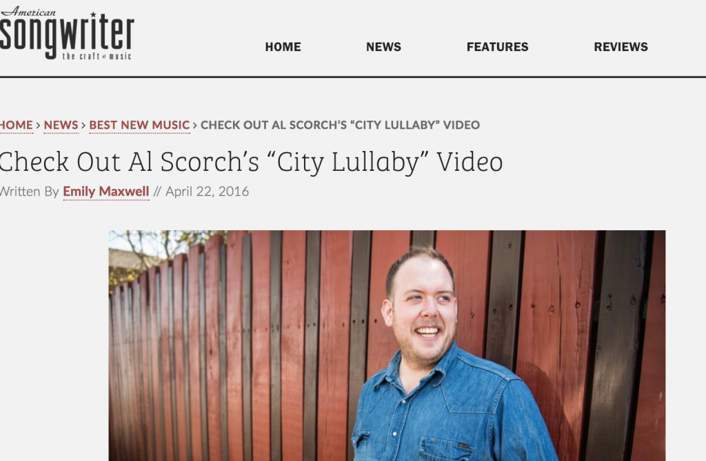 Al Scorch City Lullaby American Songwriter