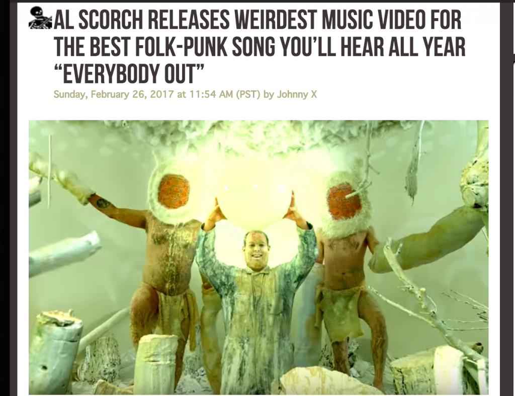 Al Scorch Everybody Out Music Video Dying Scene