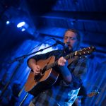 Tyler Childers at Evanston SPACE Feb 11 2018 with Al Scorch photo by V.